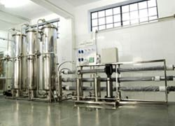 Mineral Water Plant - Fluid System